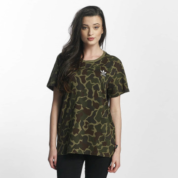 adidas originals T-paidat PW HU Hiking Logo camouflage