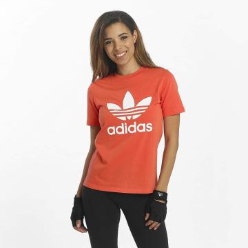 adidas originals T-paidat Trefoil punainen