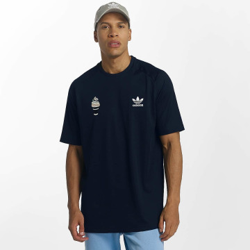adidas originals T-Shirt Football blau