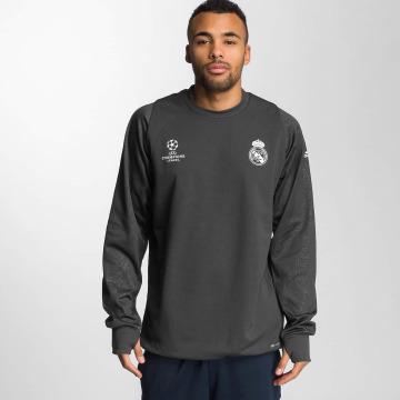 adidas originals T-Shirt manches longues Real Madrid gris
