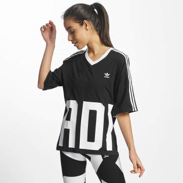 adidas originals T-Shirt V-Neck schwarz