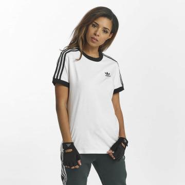 adidas originals T-shirt 3 Stripes vit