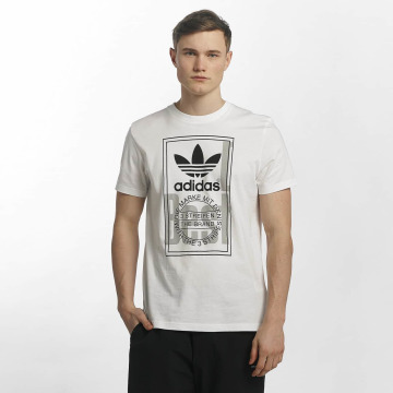 adidas originals T-Shirt Tongue Label white