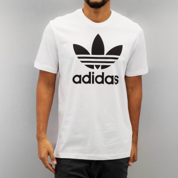 adidas originals T-Shirty Originals Trefoil bialy