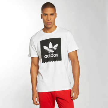 adidas originals T-Shirty Solid BB bialy