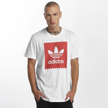 adidas originals T-Shirty Solid Blackbird bialy