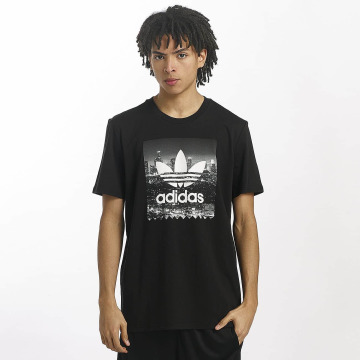 adidas originals T-Shirty NY Photo czarny