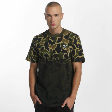 adidas originals T-Shirty Camo moro