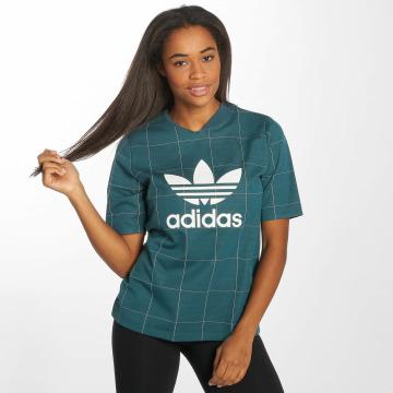 adidas originals T-Shirty CLRDO zielony