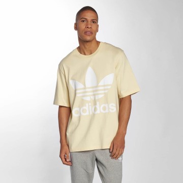 adidas originals T-Shirty Oversized zólty