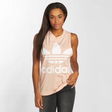 adidas originals Tank Tops Trefoil rose
