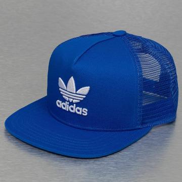 adidas originals Trucker Cap Trefoil blue