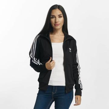 adidas originals Veste mi-saison légère Firebird Track Top noir