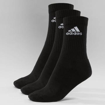adidas Performance Носки Performance 3-Stripes Performance Crew черный