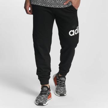 adidas Performance Спортивные брюки Essentials Logo черный