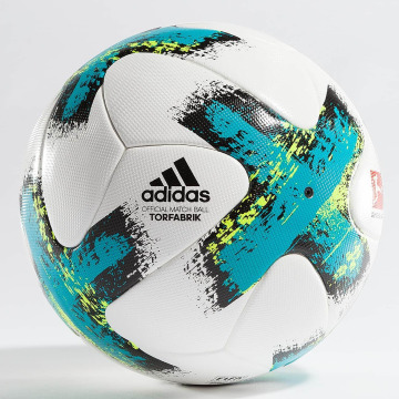 adidas Performance Ball Torfabrik Offical Match Ball weiß