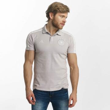 adidas Performance Camiseta polo DFB Cotton gris