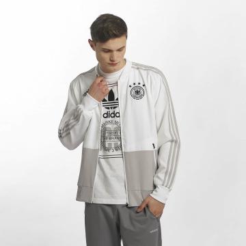 adidas Performance Chaqueta de entretiempo DFB Presentation blanco