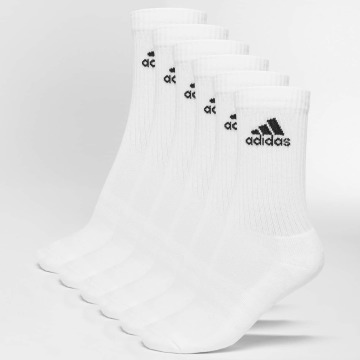 adidas Performance Chaussettes 3-Stripes blanc
