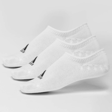 adidas Performance Chaussettes Invisible Thin blanc