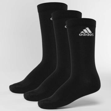 adidas Performance Chaussettes Performance 3-Stripes No Show noir