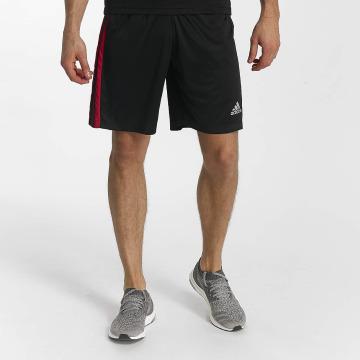 adidas Performance shorts D2M 3-Stripes zwart
