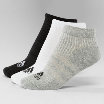 adidas Performance Sokker Performance 3-Stripes No Show 3-Pairs svart