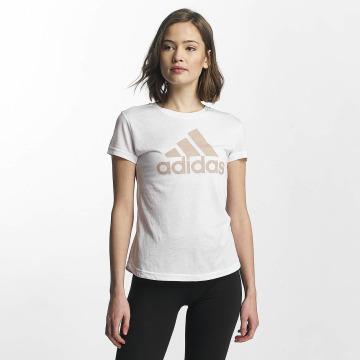 adidas Performance T-shirt Training bianco