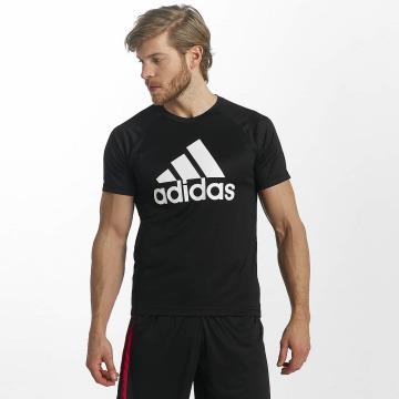adidas Performance T-Shirt D2M Logo noir
