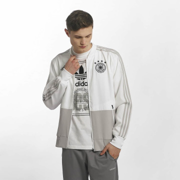 adidas Performance Välikausitakit DFB Presentation valkoinen