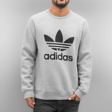 adidas Pullover Trefoil Fleece gray