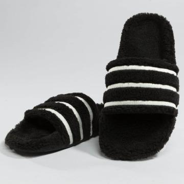 adidas Slipper/Sandaal Adilette zwart