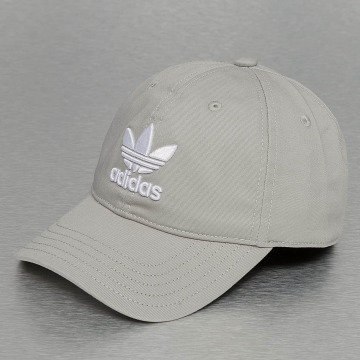 adidas Snapback Trefoil šedá