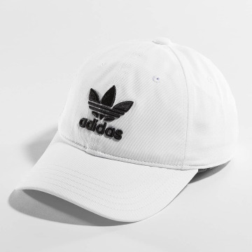 adidas Snapback Caps Trefoil bialy