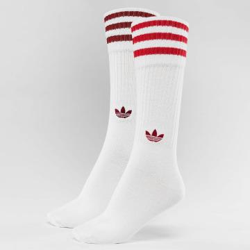 adidas Strømper 2-Pack Solid rød