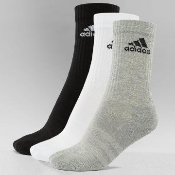 adidas Sukat 3-Stripes Per Cr HC 3-Pairs musta