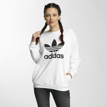 adidas Sweat & Pull Trefoil blanc