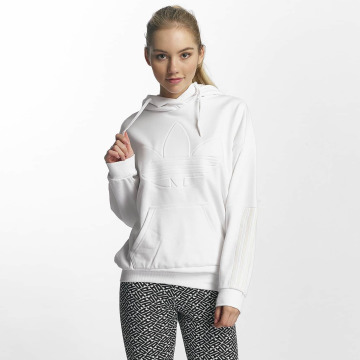 adidas Sweat capuche Flock blanc