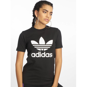 adidas T-shirt Trefoil nero