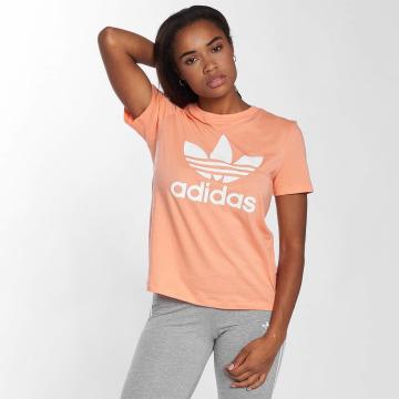 adidas t-shirt Trefoil oranje