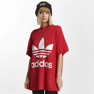 adidas T-Shirt Big Trefoil rouge