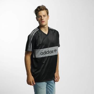 adidas t-shirt Jersey Word Camo zwart