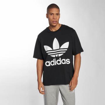 adidas t-shirt Oversized zwart