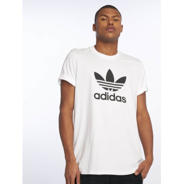 adidas T-Shirty Trefoil bialy