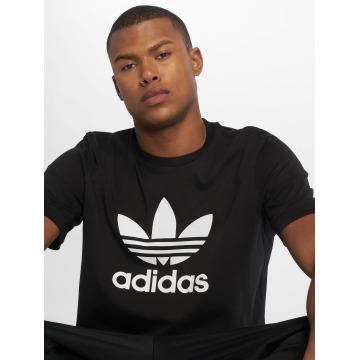 adidas T-Shirty Trefoil czarny
