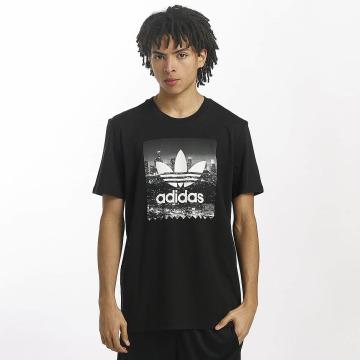 adidas T-Shirty NY Photo czarny