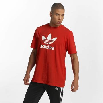 adidas T-Shirty Trefoil czerwony