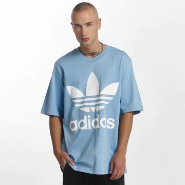 adidas T-Shirty Oversized niebieski