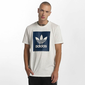 adidas T-Shirty Solid Blackbird szary