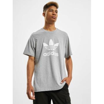 adidas T-Shirty Trefoil szary